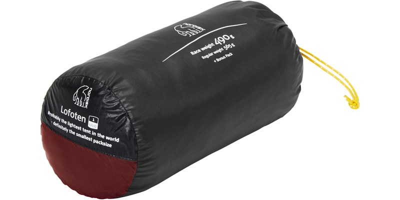 lofoten 1 ulw 151018 nordisk extreme lightweight one man tent burnt red packsack 1