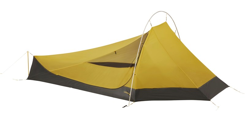 lofoten 2 ulw inner cabin 107157 nordisk extreme lightweight two man stand alone inner tent mustard yellow 2