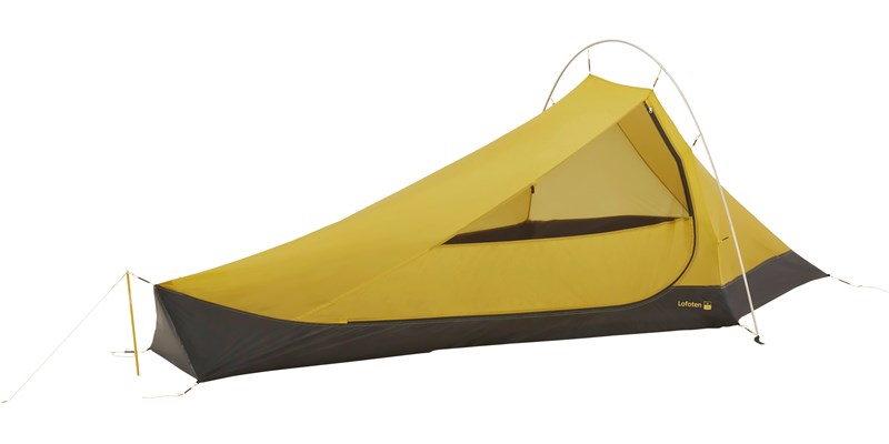 lofoten 2 ulw inner cabin 107157 nordisk extreme lightweight two man stand alone inner tent mustard yellow 1