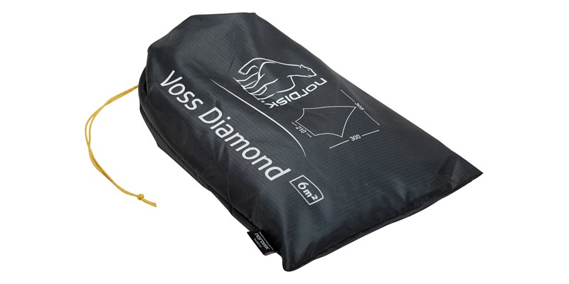 voss diamond si 117014 nordisk tarp forest green 12