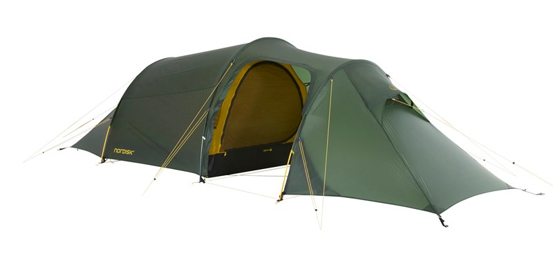 oppland 2 lw 151022 nordisk ultimate lightweight three man tent forest green 01
