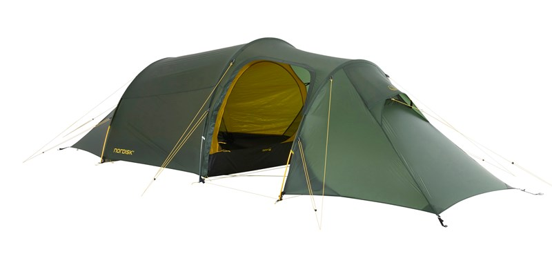 oppland 2 lw 151022 nordisk ultimate lightweight three man tent forest green 03