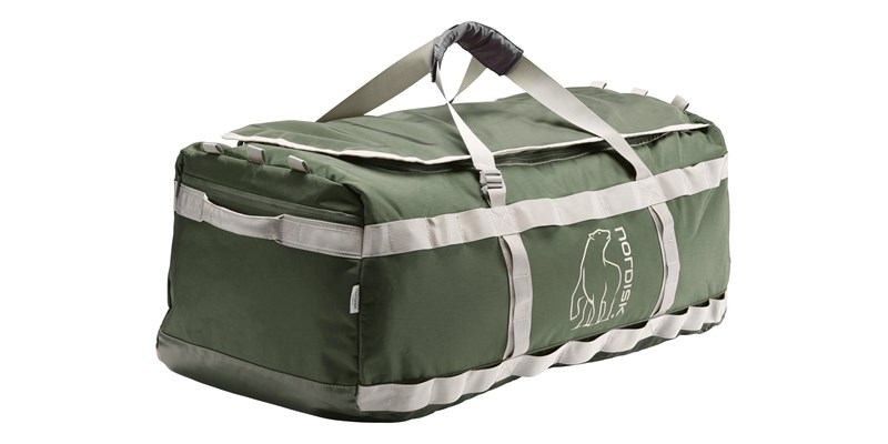 skara size l 133088 nordisk gear bag 100 litres forest green 07