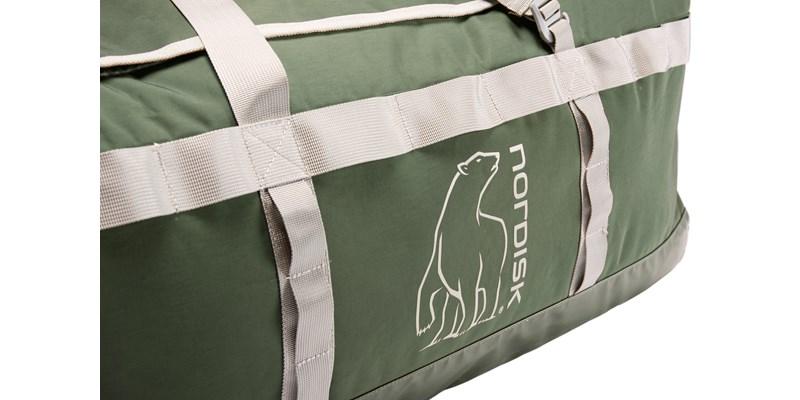 skara size l 133088 nordisk gear bag 100 litres forest green 13