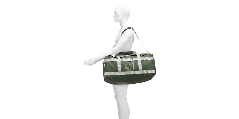 skara size m 133086 nordisk gear bag 70 litres forest green 18