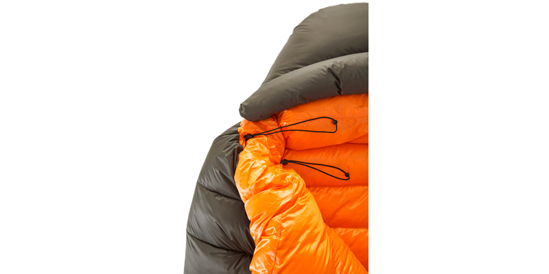 arctic 1100 77621 77631 77641 nordisk down sleeping bag coffee orange 03_low res