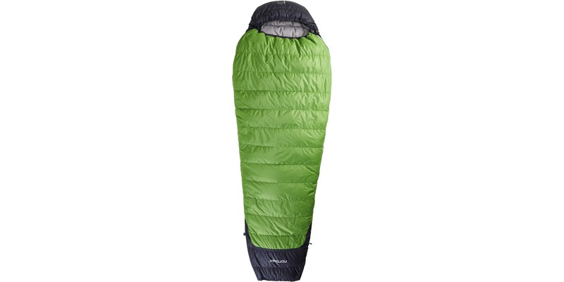 celsius minus 3 110204l nordisk mummy shape sleeping bag peridot green front