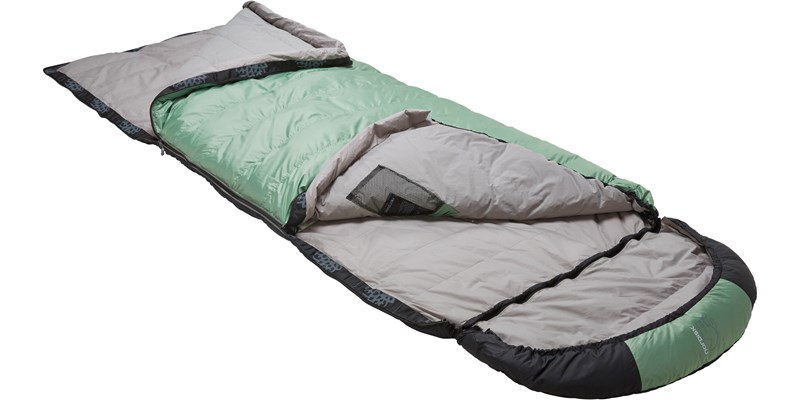 selma 0 110219l nordisk rectangular shape sleeping bag mineral green slanted open top bottom